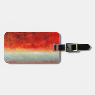 Storm on the Horizon by Fine Artist Alison Galvan Luggage Tag