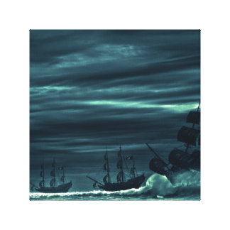 Storm on the sea canvas print