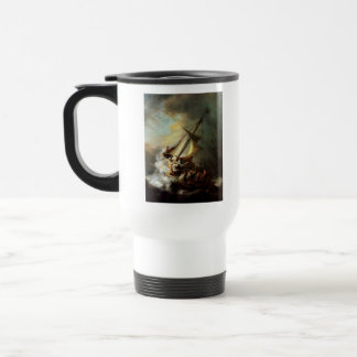 Storm on the Sea of Galilee Travel Mug