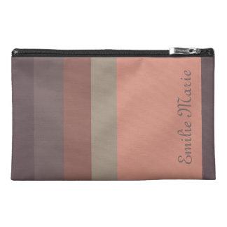 Storm Over Paris Palette Stripes Personalized Travel Accessory Bag