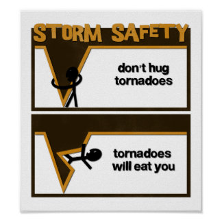 Storm Safety Poster