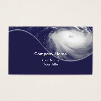 Storm Shutters Business Cards