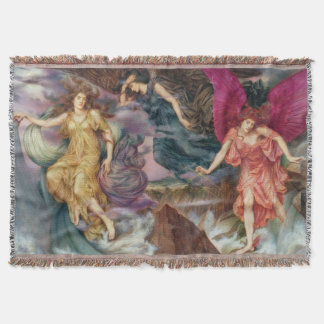 Storm Spirits Throw Blanket
