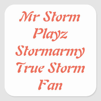 Storm stickers