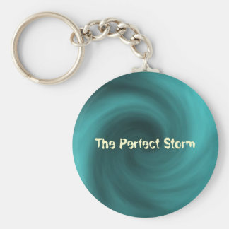 storm, The Perfect Storm Basic Round Button Keychain