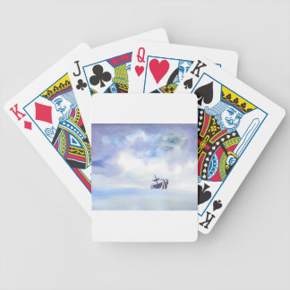 Storm-Tossed Bicycle Playing Cards