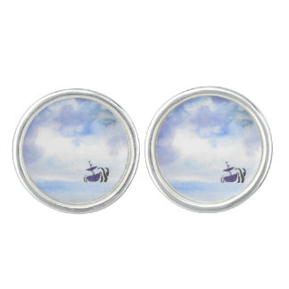 Storm-Tossed Cuff Links