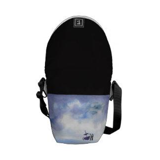 Storm-Tossed Mini Messenger Bag