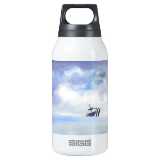 Storm Tossed Ship Water Bottle