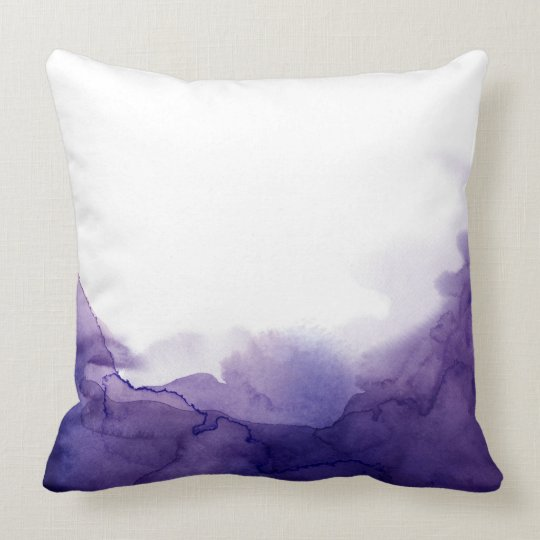 Storm Watercolour Cushion