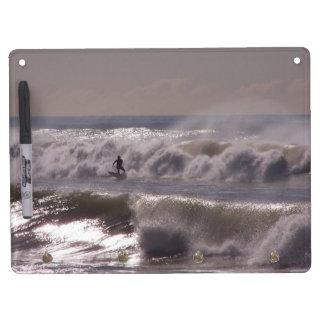 Storm Wave Surfer Dry Erase Board