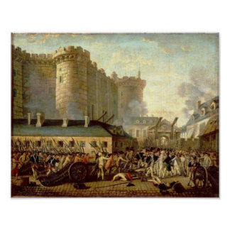 Storming the Bastille Poster