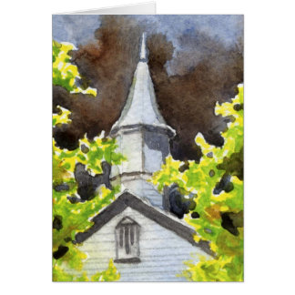 """Storm's Coming #5"" Country Roads Greeting Card"