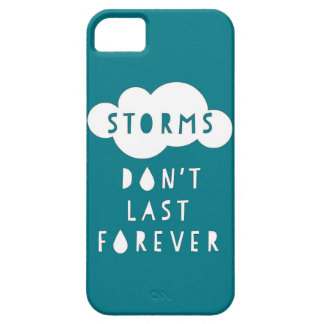 Storms Don't Last Forever Phone Case Dark