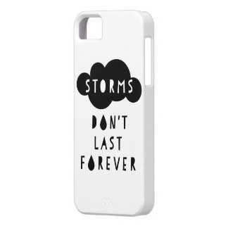 Storms Don't Last Forever Phone Case Light