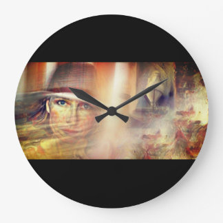 Storms of Life Large Clock
