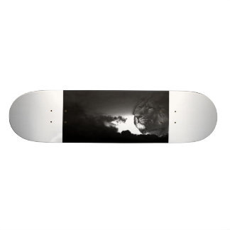 storms roar custom skateboard