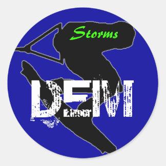 Storms Sticker