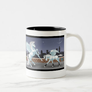 Stormwind & Thunderbolt Two-Tone Coffee Mug