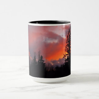 Stormy Bliss sunset 15 ounce mug