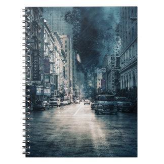 Stormy Cityscape Notebook