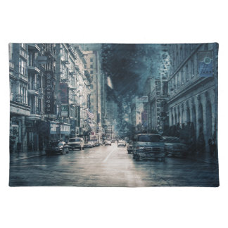 Stormy Cityscape Placemat