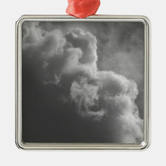 Stormy Clouds Metal Ornament