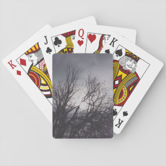 Stormy Cowichan BC Sky Playing Cards