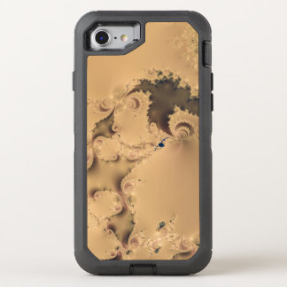 Stormy Fractal OtterBox Defender iPhone 7 Case