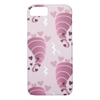 Stormy Love Pink Tornado iPhone Case