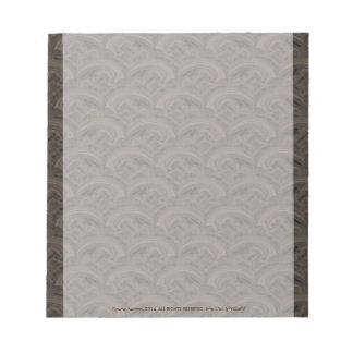 stormy seas abstract pattern notepads