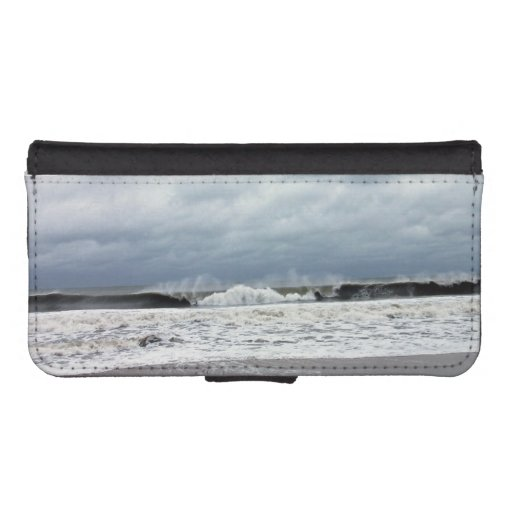 Stormy Seas of the Atlantic Ocean iPhone 5 Wallet