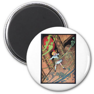 Stormy Ship 2 Inch Round Magnet