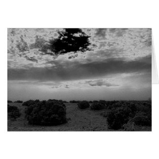 Stormy Sunrise in New Mexico Notecard