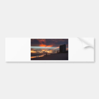 Stormy Sunset Bumper Sticker