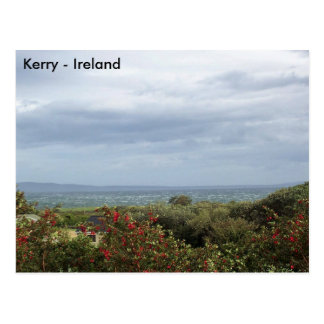 Stormy Tralee Bay, Co. Kerry, Ireland Postcard