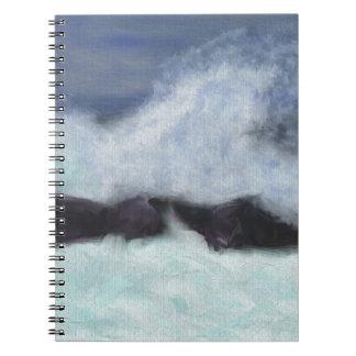 Stormy Waters Art Notebook