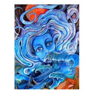Stormy Waters Postcard