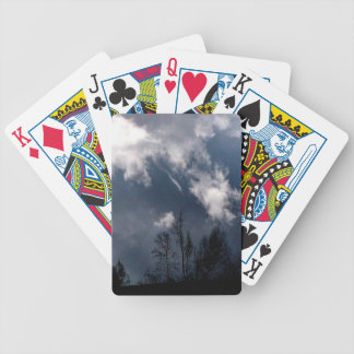 Stormy Weather Bicycle Playing Cards
