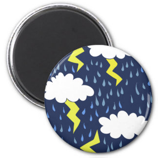 Stormy weather magnet