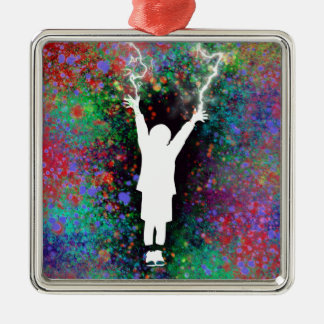 Stormy Weather Metal Ornament