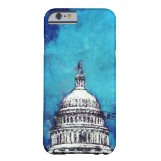 Stormy Weather Over The Capitol Barely There iPhone 6 Case
