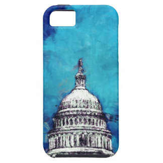 Stormy Weather Over The Capitol iPhone 5 Cases