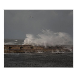 Stormy Weather Poster Print