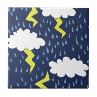 Stormy weather tile