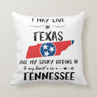 Story begins in Tn Throw Pillow