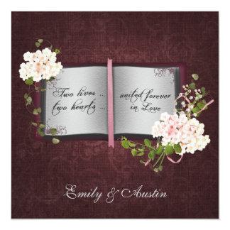 Story Book Wedding Invitation