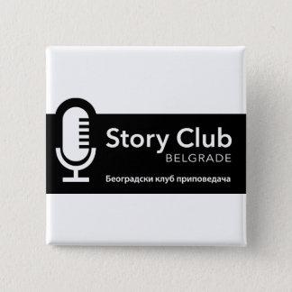 Story Club Belgrade Square Button