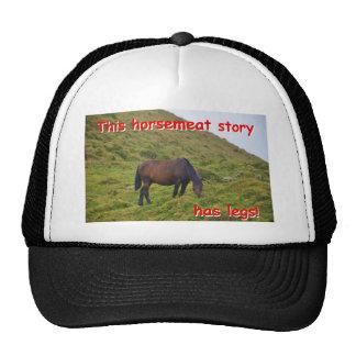 Story has legs. trucker hats