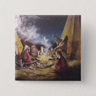 Story Teller 2 Inch Square Button